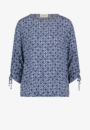 Blouse - light blue/dark blue