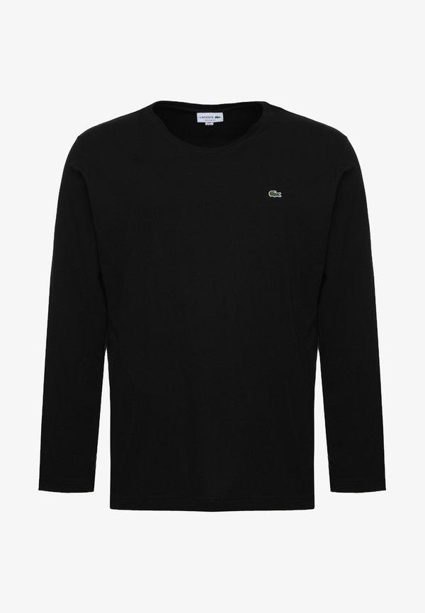 Lacoste Bluzka z długim rękawem - black/czarny Odzież Męska XVBE