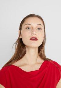 Lauren Ralph Lauren - MID WEIGHT DRESS - Shift dress - parlor red - 3