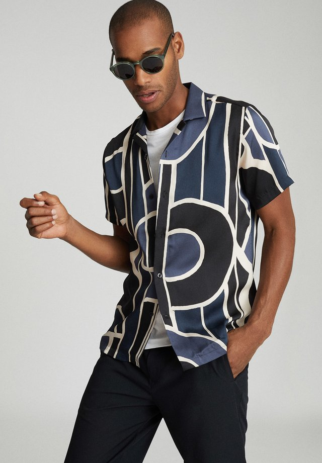 DECO - Shirt - navy blue
