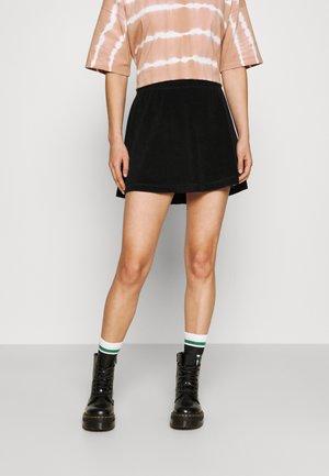 SHORTY SKIRT - Mini skirt - black
