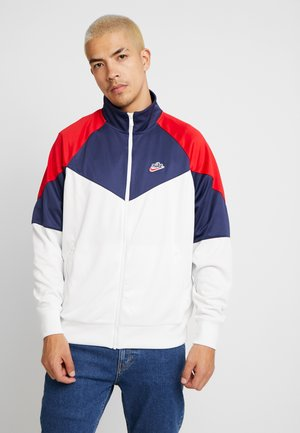 Training jacket - summit white/midnight navy/university red