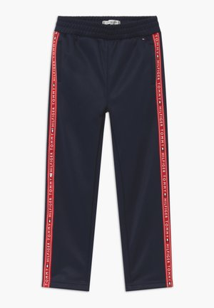 TAPE TRACKPANTS - Jogginghose - blue