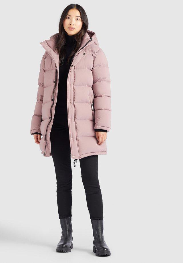 RILANA  - Płaszcz puchowy - beige-rosa