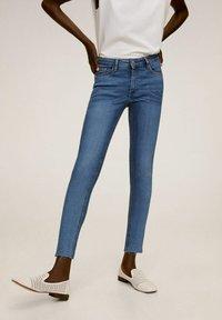 Mango - ISA - Jeans Skinny Fit - middenblauw - 1