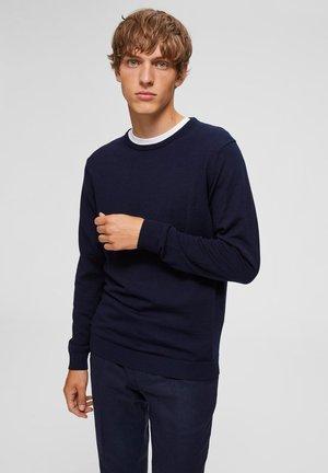SLHTOWER - Jumper - navy blazer
