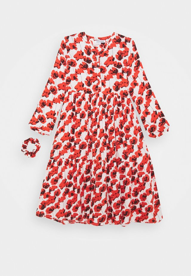 KENYA DRESS - Vapaa-ajan mekko - red