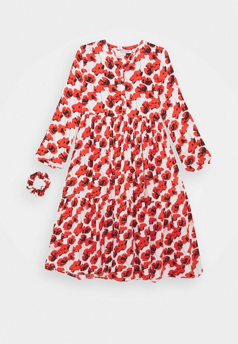 Cost:bart - KENYA DRESS - Denní šaty - red