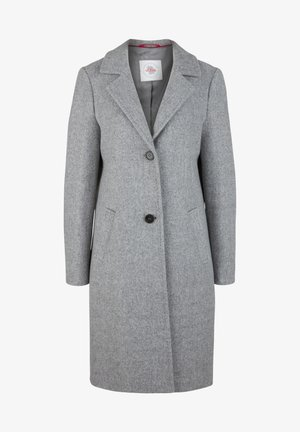 langarm - Classic coat - grey melange