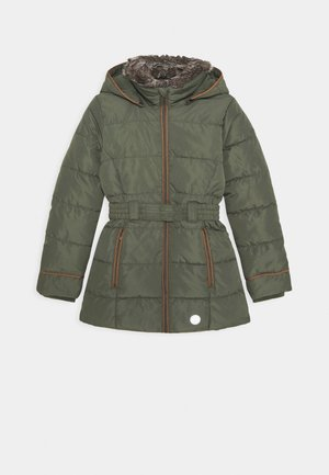 Winter coat - khaki/oliv
