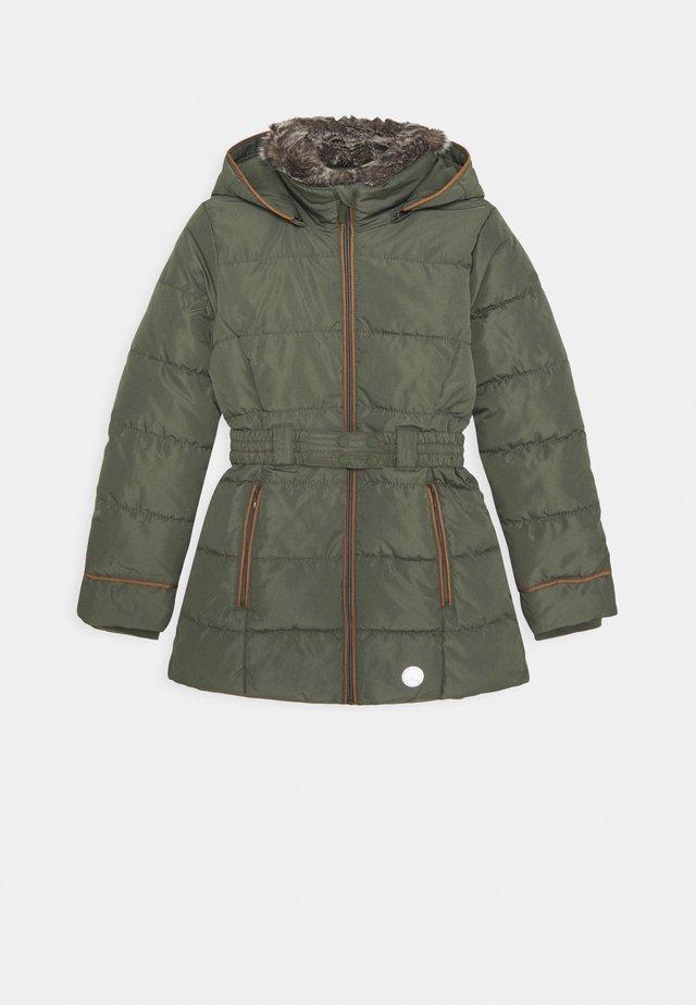 Cappotto invernale - khaki/oliv