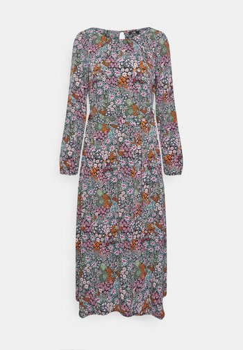 TAPESTRY DITSY FLORAL PRINT DRESS