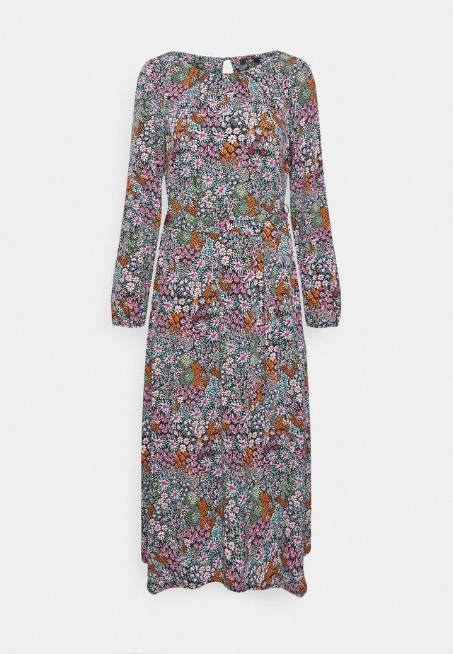 TAPESTRY DITSY FLORAL PRINT DRESS - Vestido ligero - black