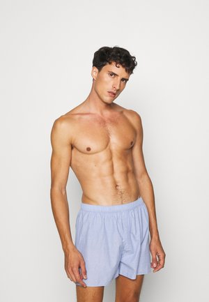 Boxer shorts - blue dusty light