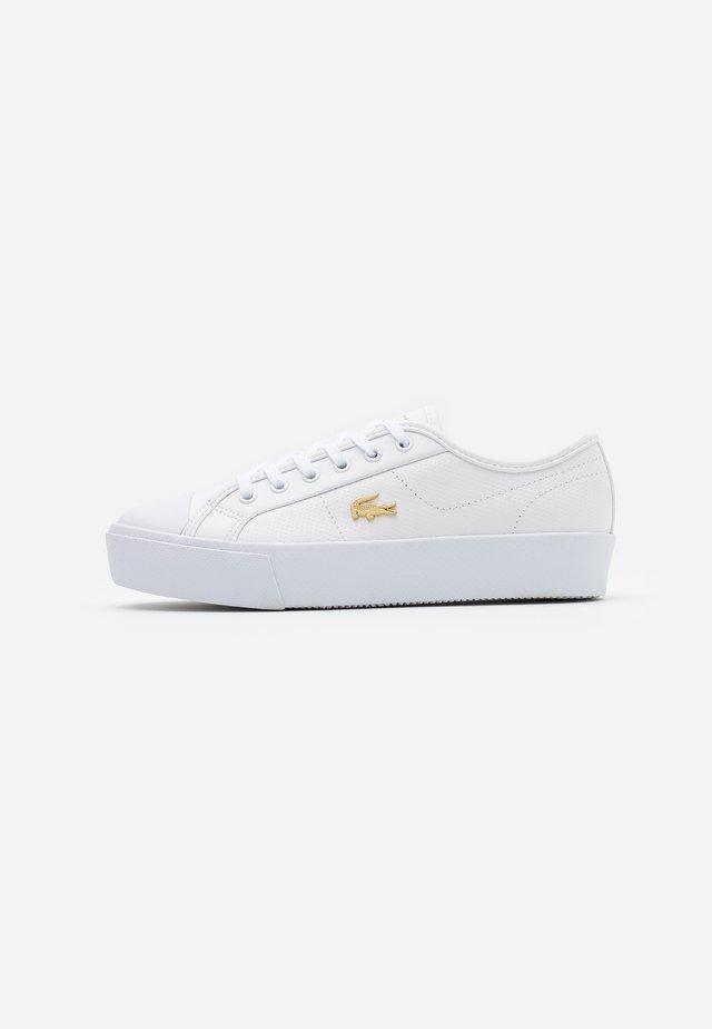 ZIANE PLUS GRAND  - Zapatillas - white/gold