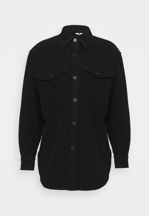 JACKET - Short coat - black dark