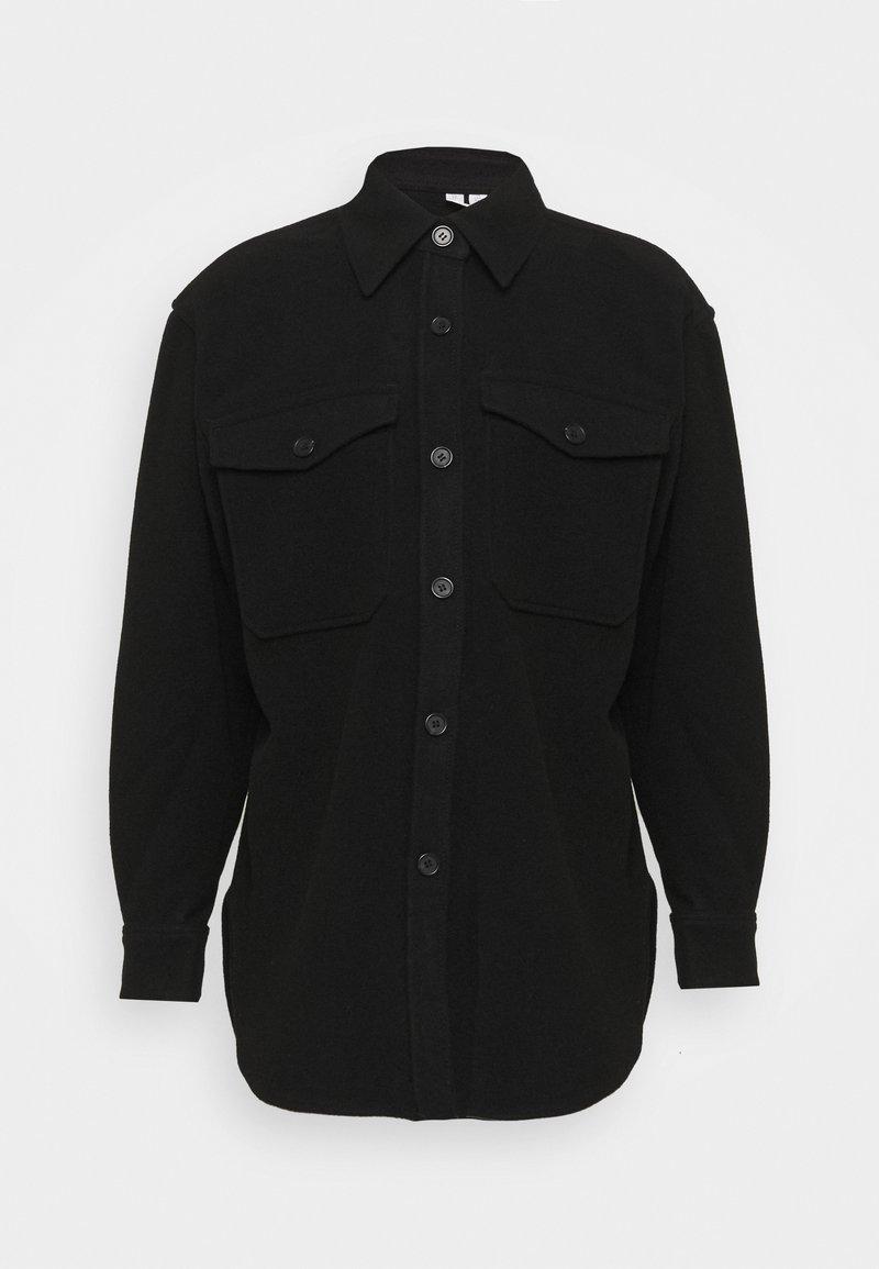 ARKET - JACKET - Short coat - black dark