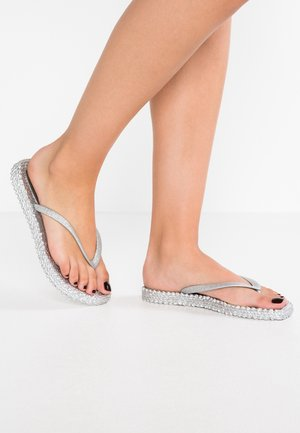 CHEERFUL - Pool shoes - silber