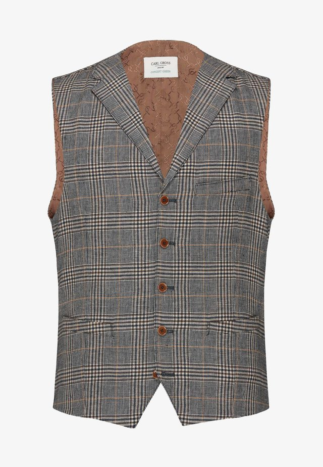 Suit waistcoat - dunkelblau