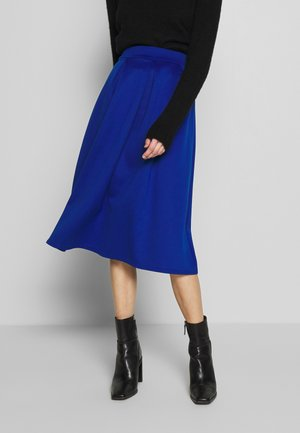 A-line skirt - cobalt