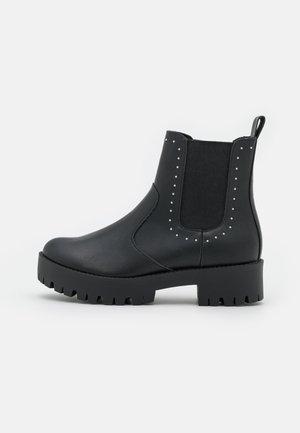 CABELL - Platform ankle boots - black paris