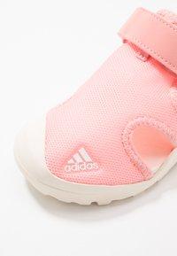 adidas Performance - CAPTAIN TOEY - Walking sandals - glow pink/core white - 2