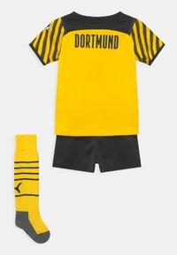 Puma - BVB BORUSSIA DORTMUND SET - Pelipaita - cyber yellow/black - 1