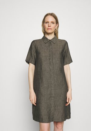 WELIKA - Shirt dress - black