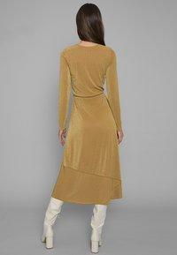 Mykke Hofmann - Jersey dress - yellow - 1