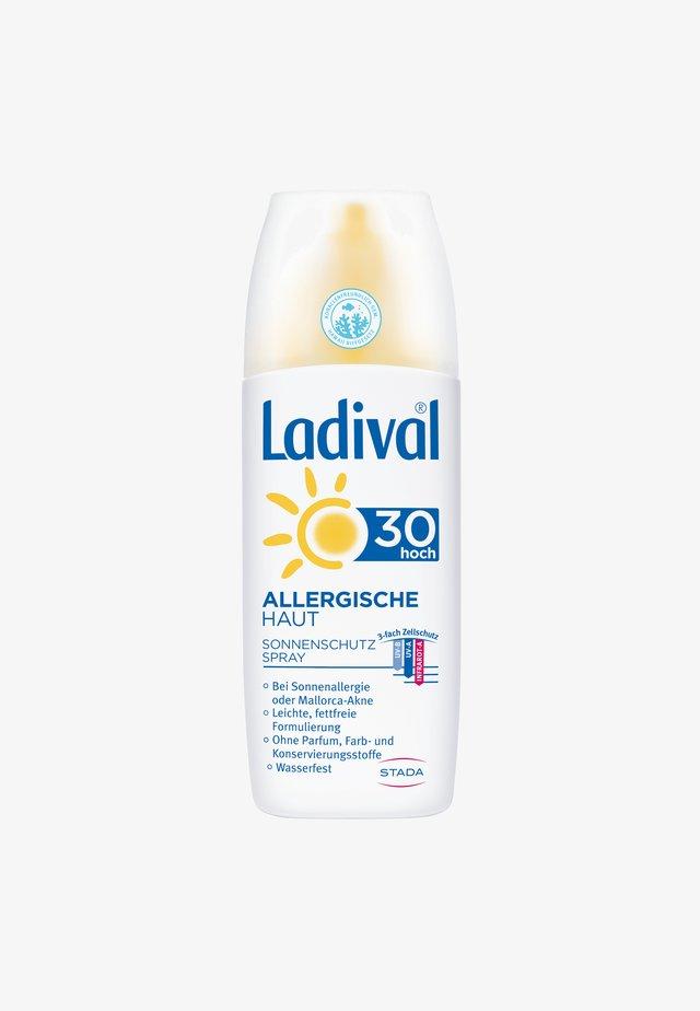 SONNENSCHUTZ ALLERGISCHE HAUT SONNENCREME SPRAY LSF 30 - Sun protection - -