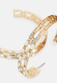 Pieces - PCPANILLE HOOP EARRINGS - Earrings - gold-coloured - 2