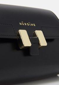 Maison Hēroïne - LILIA NANO - Across body bag - black - 4