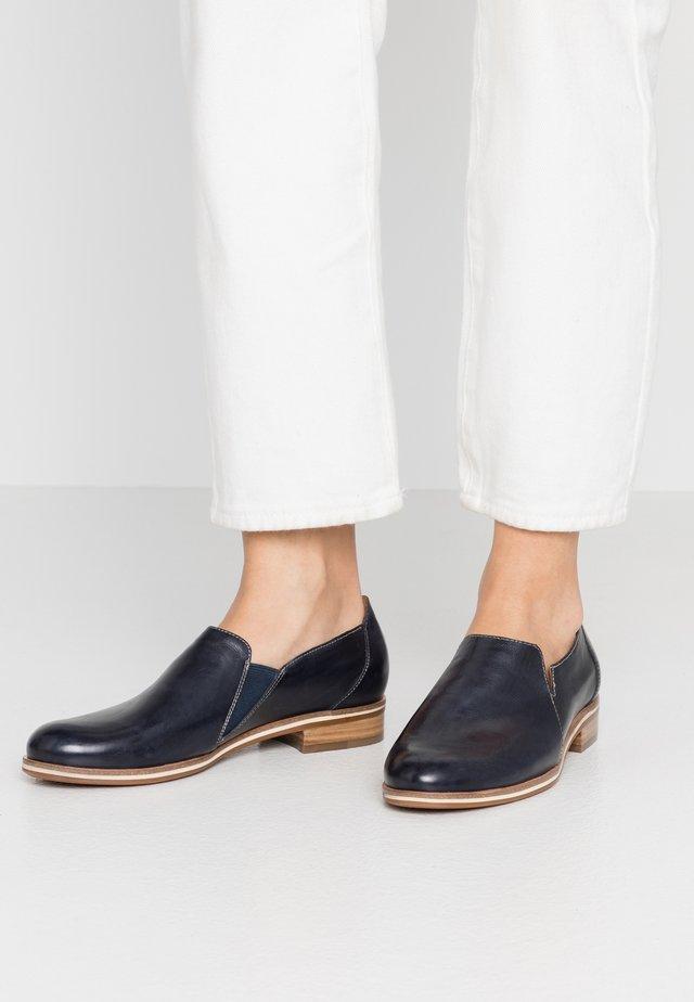 Scarpe senza lacci - blu