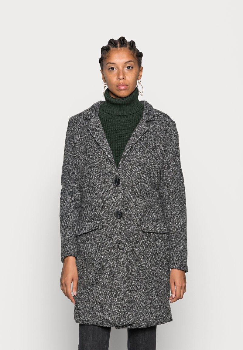 JDY - JDYBESTY  FALL - Classic coat - dark grey melange