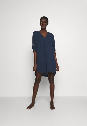 LONG SLEEVE COVERUP - Accessorio da spiaggia - indigo