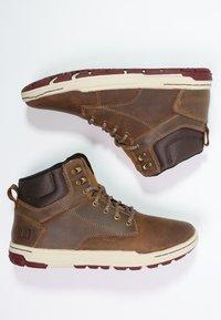 Cat Footwear - COLFAX - Botki sznurowane - dark beige - 1