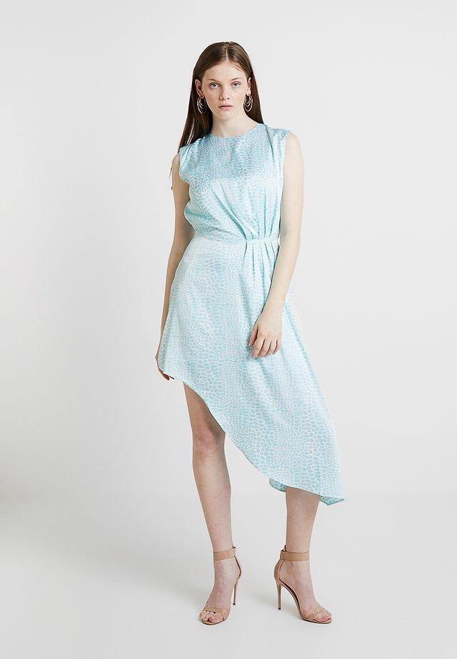 ASYMMETRIC DRESS - Denní šaty - light blue