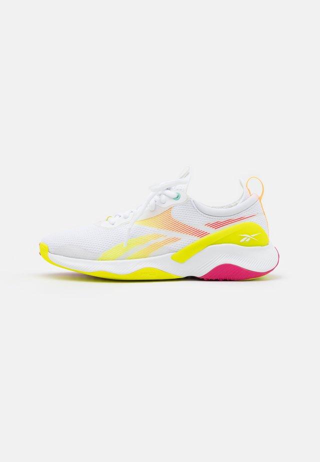 HIIT TR 2.0 - Scarpe da fitness - footwear white/pursuit pink/pixel mint