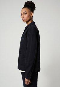 Napapijri - ALIE - Denim jacket - blu marine - 3