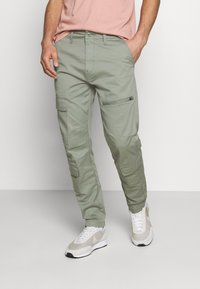 Levi's® - LO BALL UTILITY - Cargobukser - sea spray - 0