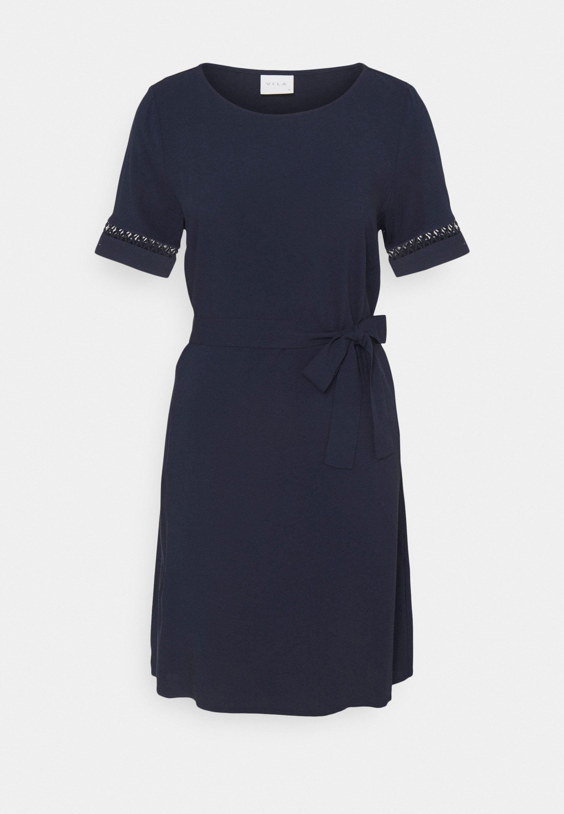 Women VILANA LACE BELT DRESS - Day dress