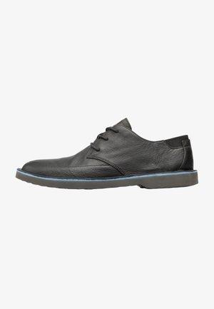 MORRYS - Sznurowane obuwie sportowe - black