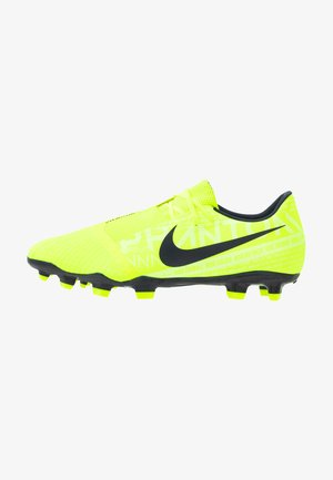PHANTOM  ACADEMY FG - Moulded stud football boots - volt/obsidian/volt/barely volt