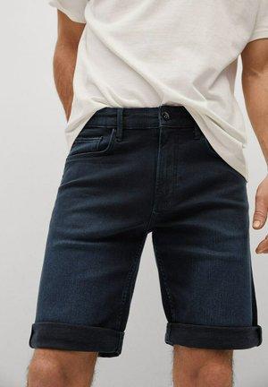 ROCK - Shorts di jeans - bleu foncé intense