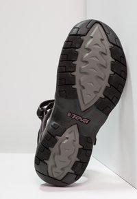 Teva - TIRRA - Outdoorsandalen - black/grey - 4