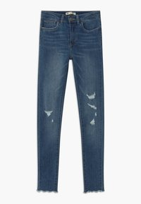 Levi's® - 720 HIGH RISE SUPER SKINNY - Skinny džíny - hometown blue - 0