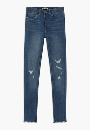 720 HIGH RISE SUPER SKINNY - Vaqueros pitillo - hometown blue