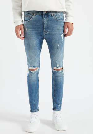 Jeansy Skinny Fit - stone blue denim