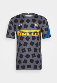 INTER MAILAND DRY - Club wear - dark grey/black/blue spark/tour yellow
