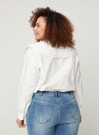 Zizzi - Button-down blouse - white - 2